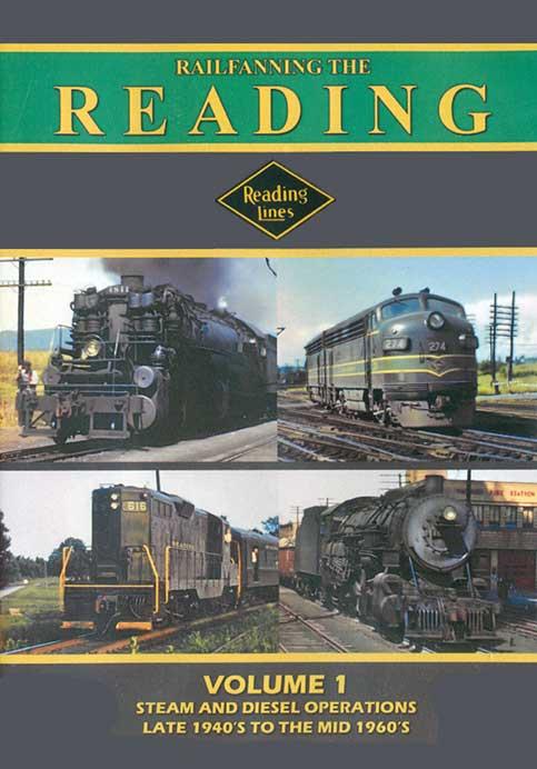 Railfanning the Reading Volume 1 DVD John Pechulis Media RFTRV1
