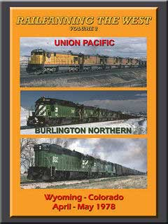 Railfanning the West Vol 2 Wyoming Colorado 1978 DVD John Pechulis Media RFTWV2