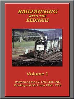 Railfanning with the Bednars Vol 1 DVD Train Video John Pechulis Media RFWTBV1