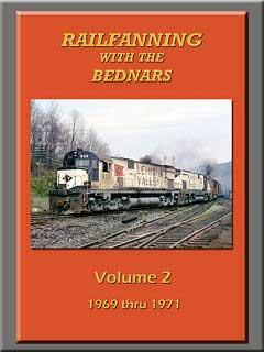 Railfanning with the Bednars Vol 2 DVD John Pechulis Media RFWTBV2
