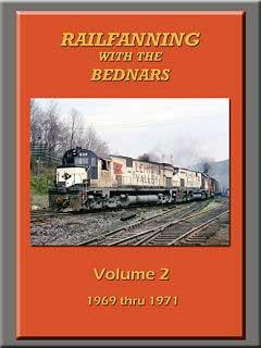 Railfanning with the Bednars Vol 2 DVD John Pechulis Media RFWTBV2