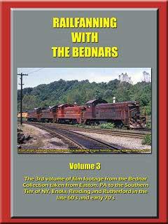 Railfanning with the Bednars Vol 3 DVD John Pechulis Media RFWTBV3