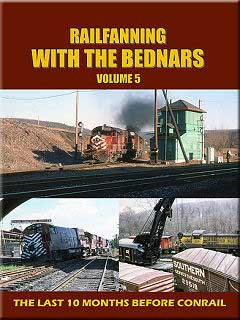 Railfanning with the Bednars Vol 5 DVD Train Video John Pechulis Media RFWTBV5