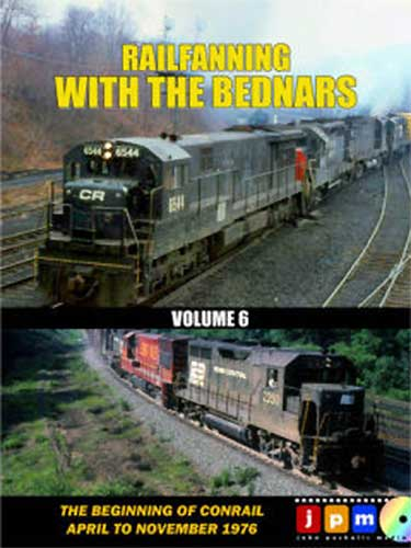 Railfanning with the Bednars Volume 6 DVD Train Video John Pechulis Media RFWTBV6