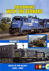 Railfanning with the Bednars Volume 11 DVD