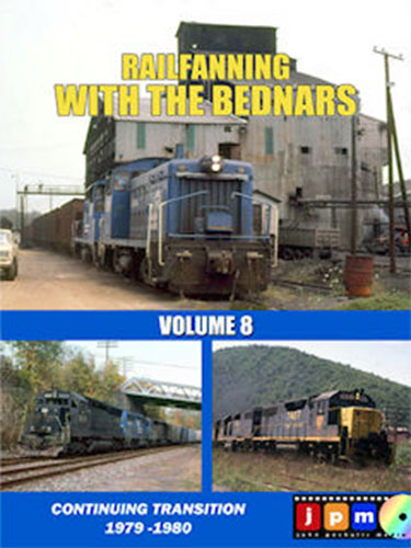 Railfanning with the Bednars Volume 8 DVD Train Video John Pechulis Media RFWTBV8