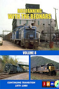 Railfanning with the Bednars Volume 8 DVD