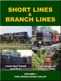 Short Lines & Branch Lines DVD John Pechulis Media SLBLV1