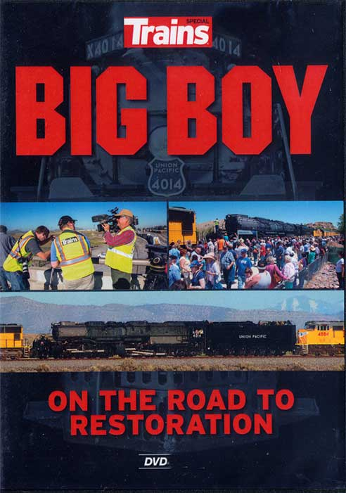 Big Boy on the Road to Restore DVD Train Video Kalmbach Publishing 15109 644651151096