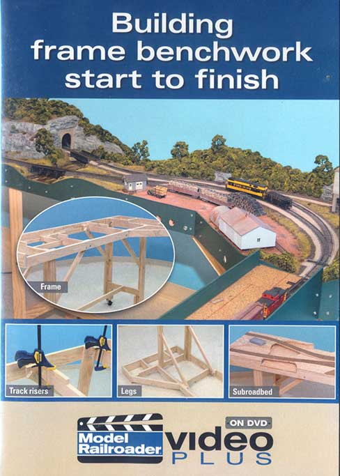 Building Frame Benchwork Start to Finish DVD Train Video Kalmbach Publishing 15300 644651153007