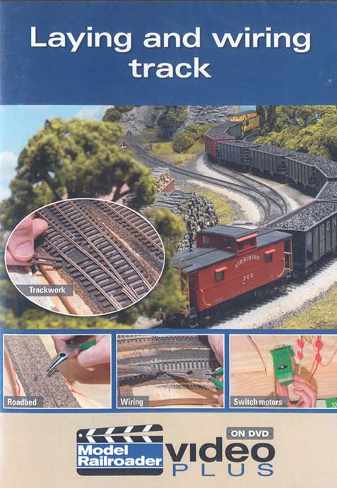 Laying and wiring track DVD Train Video Kalmbach Publishing 15303 644651153038