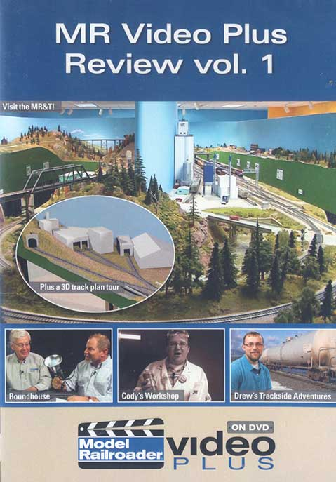 Model Railroad Video Plus Review Vol 1 DVD Train Video Kalmbach Publishing 15304 644651153045
