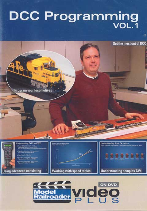 DCC Programming Vol 1 DVD Train Video Kalmbach Publishing 15306 644651153069