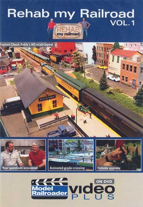 Rehab My Railroad Vol 1 DVD Train Video Kalmbach Publishing 15307 644651153076