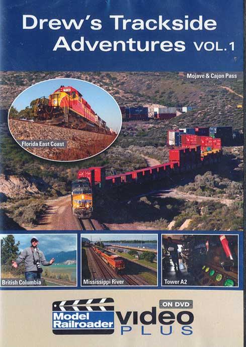 Drews Trackside Adventures Vol 1 DVD Kalmbach Publishing 15308 644651153083