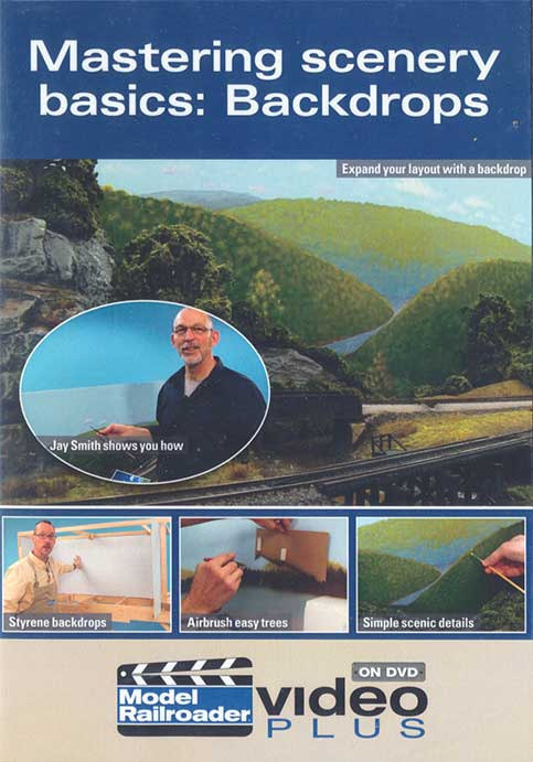 Mastering Scenery Basics: Backdrops DVD - OUT OF PRINT LIMITED STOCK Kalmbach Publishing 15309 644651153090
