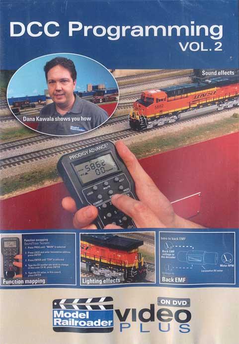 DCC Programming Vol 2 DVD Kalmbach Publishing 15312 644651153120