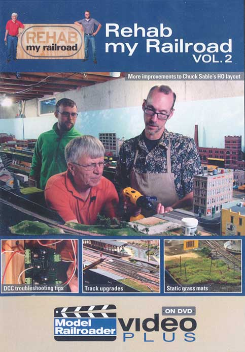 Rehab My Railroad Vol 2 DVD Train Video Kalmbach Publishing 15313 644651153137