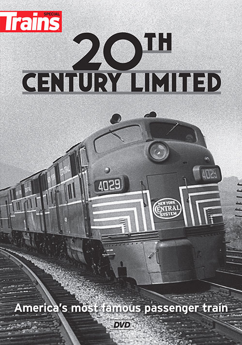 20th Century Limited - Americas Most Famous Passenger Train DVD Train Video Kalmbach Publishing 15114 644651151140