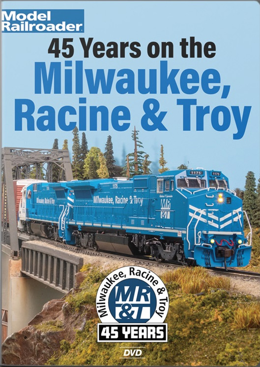 45 Years on the Milwaukee, Racine & Troy Model Railroad DVD Kalmbach Publishing 15375 644651601546