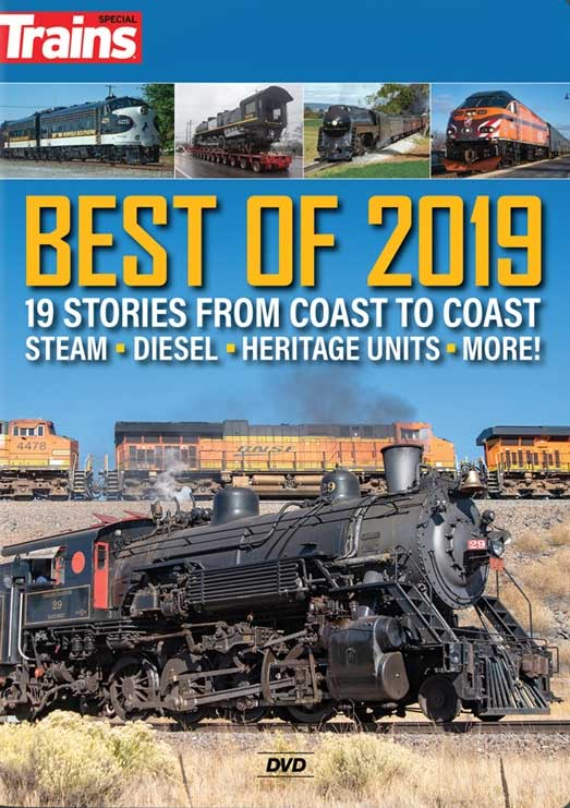 Best of 2019 19 Stories from Coast to Coast DVD Kalmbach Publishing 15364 644651601140