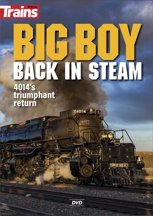 Big Boy - Back in Steam DVD Kalmbach Publishing 15209 644651600020