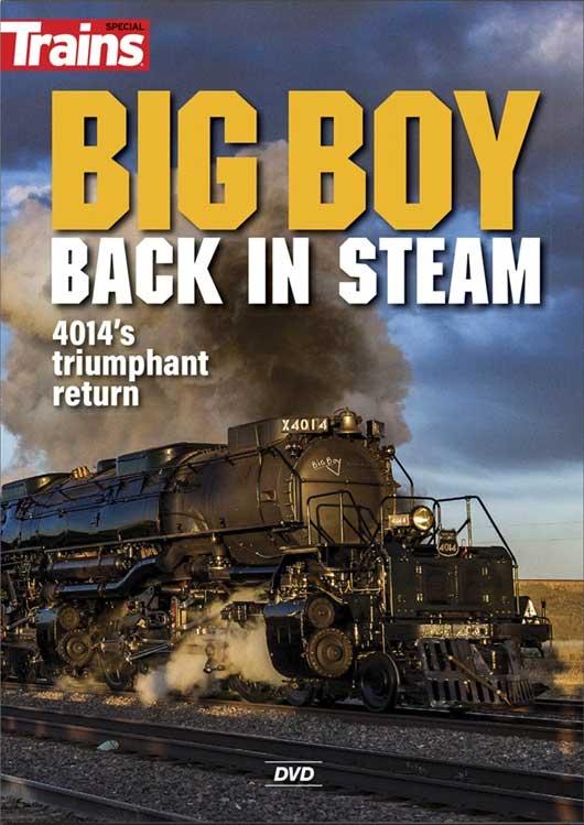 Big Boy - Back in Steam DVD Kalmbach Publishing 15209 644651600020