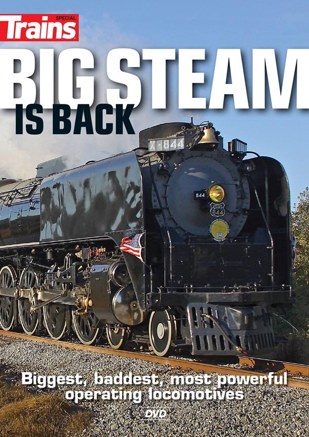 Big Steam is Back DVD Kalmbach Publishing 15117 064465151172