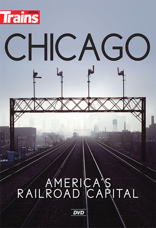 Chicago Americas Railroad Capital DVD Kalmbach Publishing 15119 064465151196