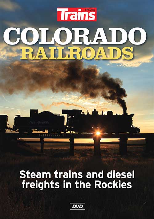 Colorado Railroads Steam Trains and Diesel Freights in the Rockies DVD Train Video Kalmbach Publishing 15115 644651151157
