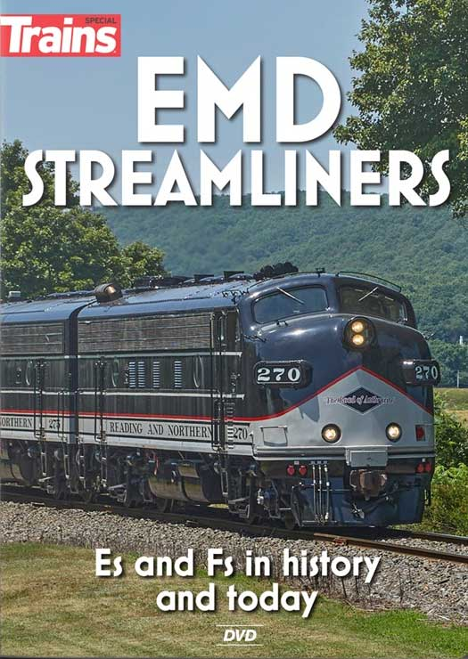 EMD Streamliners Es and Fs in History & Today DVD Kalmbach Publishing 16115 644651601614