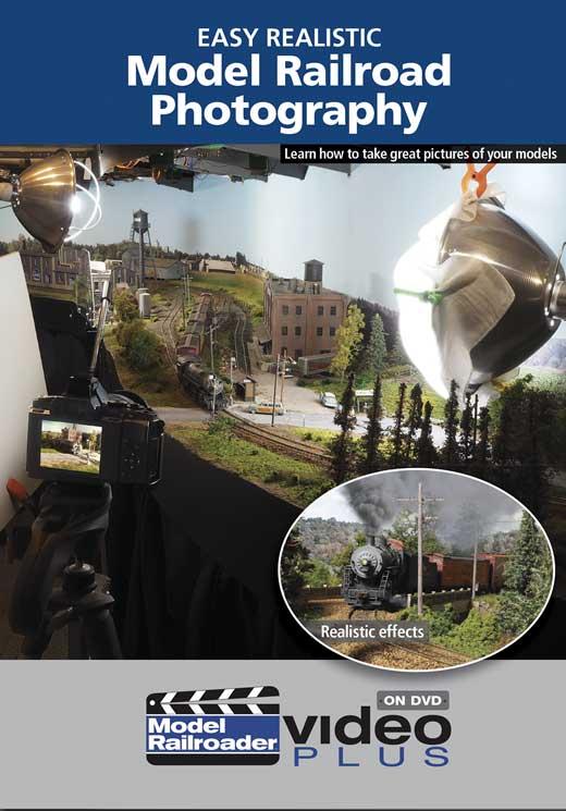 Easy Realistic Model Railroad Photography DVD Kalmbach Publishing 15365 644651601157