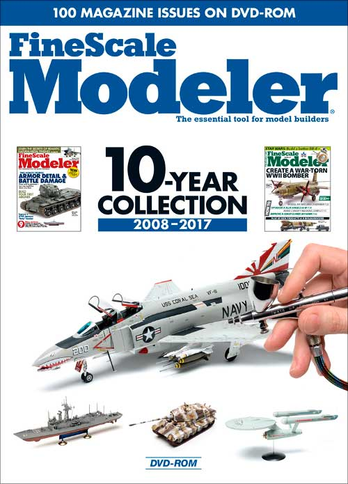 FineScale Modeler 10-Year Collection 2008-2017 DVD-ROM Kalmbach Publishing 15143 064465151431