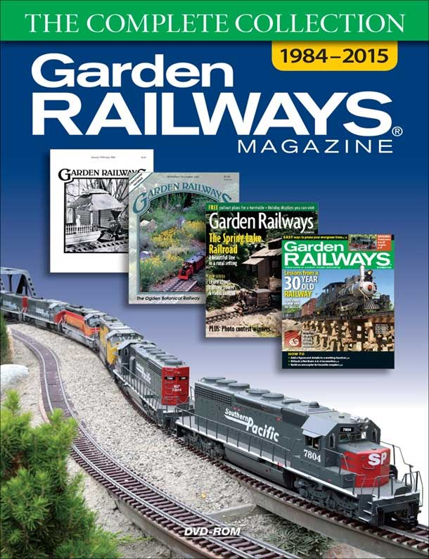 Garden Railways The Complete Collection 1984-2015 DVD-ROM Kalmbach Publishing 15118 064465151189