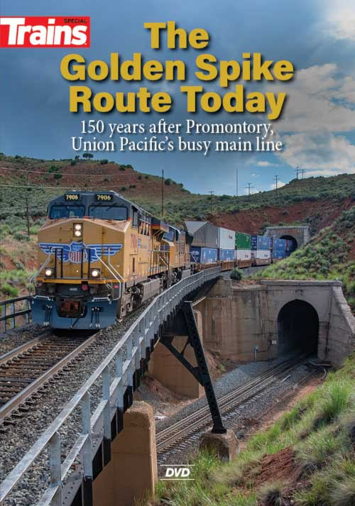 Golden Spike Route Today DVD Kalmbach Publishing 15208 644651600013