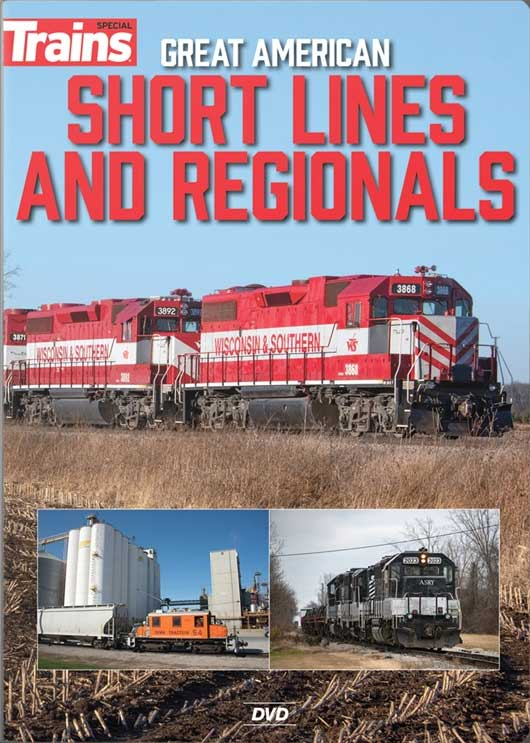 Great American Short Lines and Regionals DVD Kalmbach Publishing 16111 644651601560