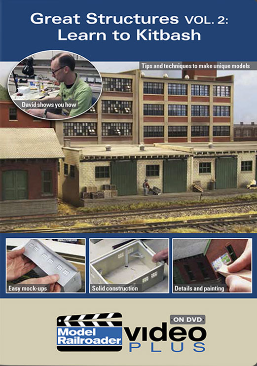 Great Structures Vol 2 - Learn to Kitbash DVD Train Video Kalmbach Publishing 15327 644651153274