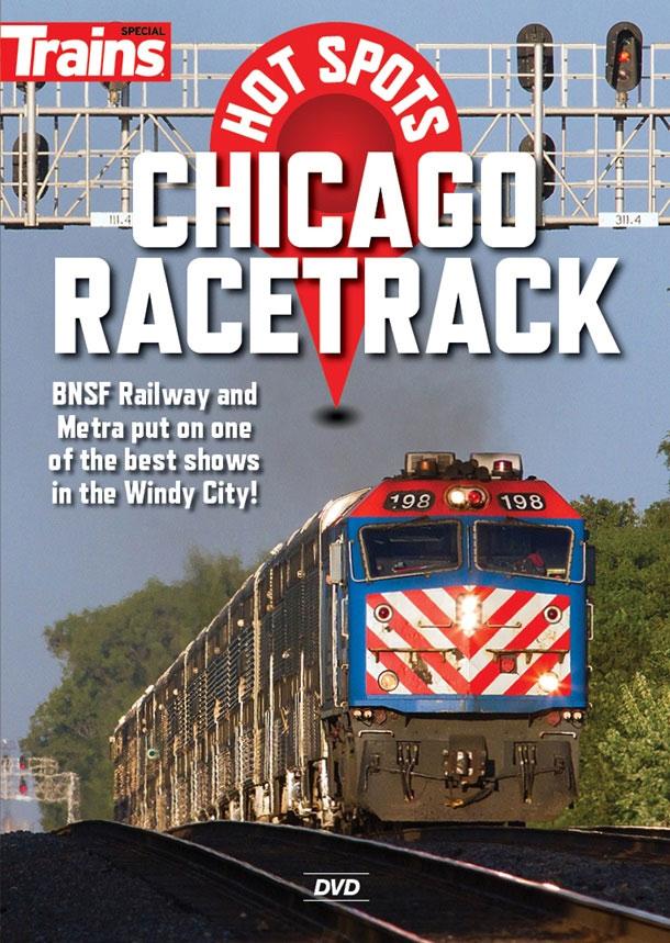 Hot Spots Chicagos Racetrack DVD Kalmbach Publishing 15139 064465151394