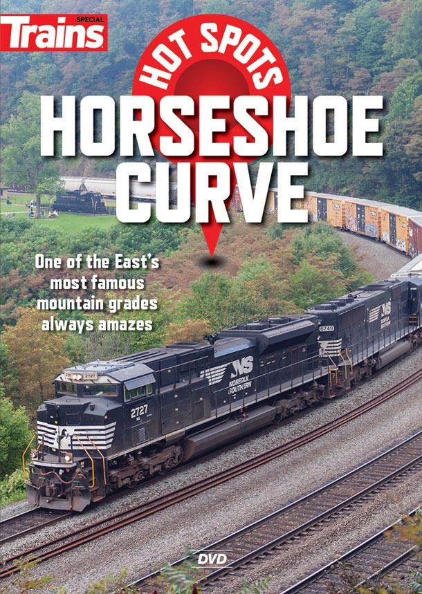 Hot Spots Horseshoe Curve DVD Kalmbach Publishing 15140 064465151400