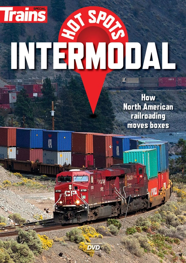 Hot Spots Intermodal DVD Train Video Kalmbach Publishing 15138 064465151380
