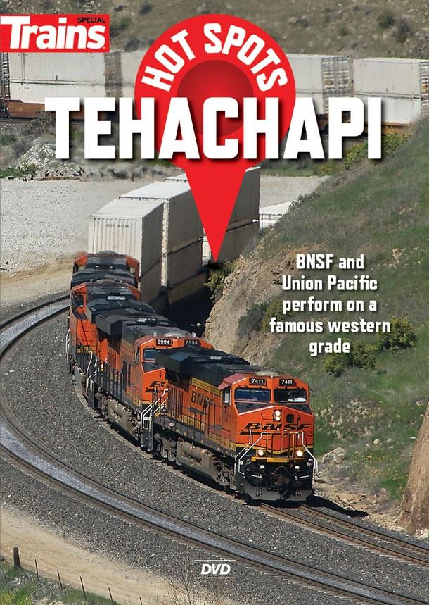 Hot Spots Tehachapi DVD Train Video Kalmbach Publishing 15136 064465151363