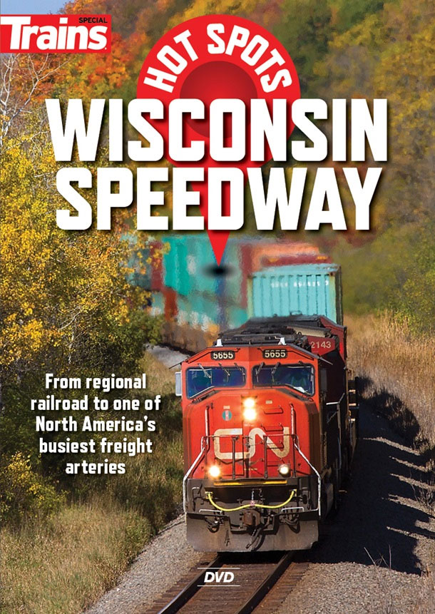 Hot Spots Wisconsin Speedway DVD Train Video Kalmbach Publishing 15144 064465151448