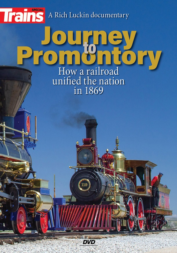Journey to Promontory DVD Kalmbach Publishing 15207 644651600198