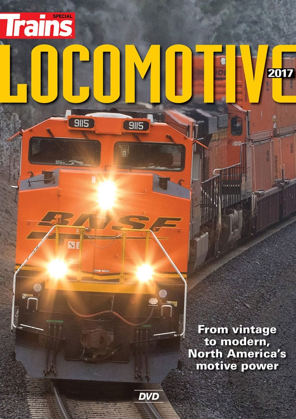 Locomotive 2017 DVD Train Video Kalmbach Publishing 15133 064465151332