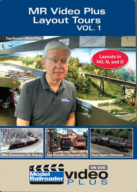 MR Video Plus Layout Tours Vol 1 DVD Kalmbach Publishing 15316 644651153168