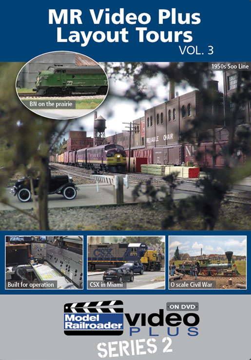 MR Video Plus Layout Tours Vol 3 DVD Kalmbach Publishing 15334 064465153343