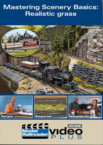 Mastering Scenery Basics - Realistic Grass DVD Kalmbach Publishing 15322 644651153229
