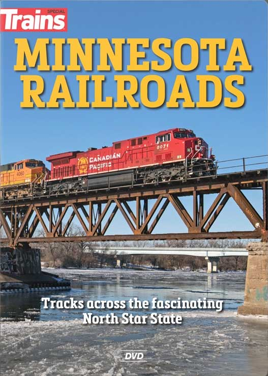 Minnesota Railroads Tracks Across the Fascinating North Star State DVD Kalmbach Publishing 16118 644651601645