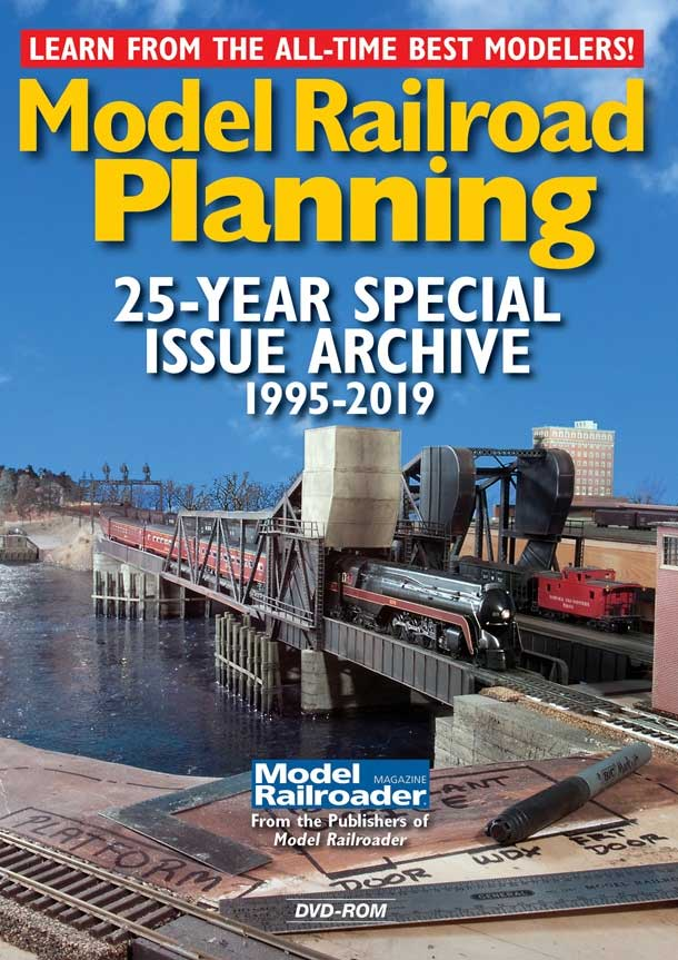 Model Railroad Planning 25-Year Special Issue Archive 1995-2019 DVD-ROM Kalmbach Publishing 15362 644651601096