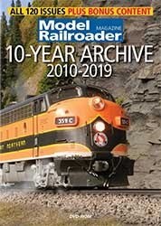 Model Railroader 10-Year Archive 2010-2019 DVD-ROM